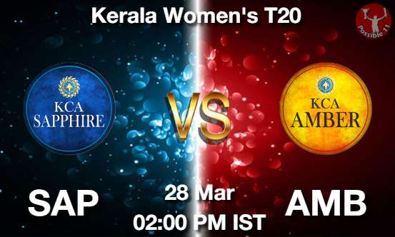 SAP vs AMB Dream11 Prediction