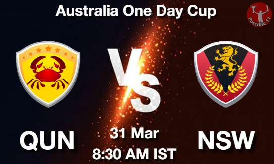 QUN vs NSW Dream11 Prediction