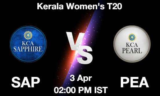 SAP vs PEA Dream11 Prediction