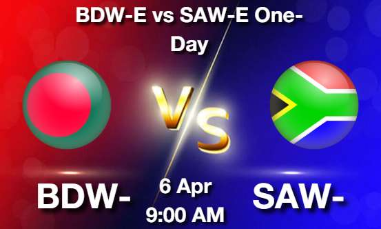 BDW-E vs SAW-E Cricket Match Previews