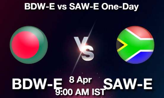 BDW-E vs SAW-E Dream11 Prediction