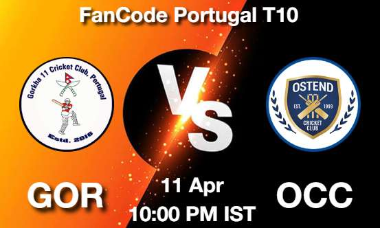 GOR vs OCC Dream11 Prediction