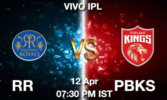 RR vs PBKS Dream11 Prediction