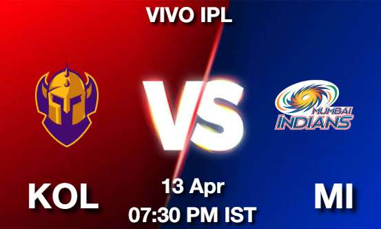 KOL vs MI Dream11 Prediction