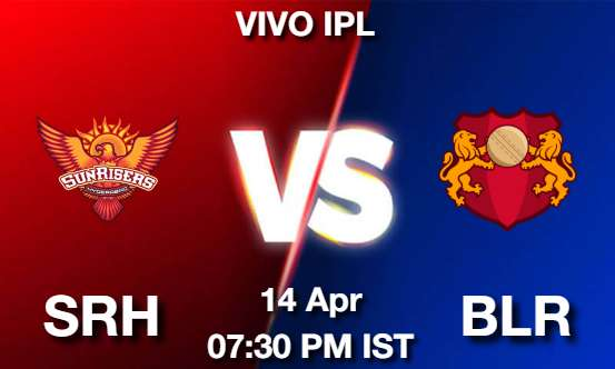 SRH vs BLR Dream11 Prediction