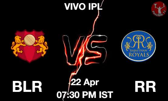 BLR vs RR Dream11 Prediction