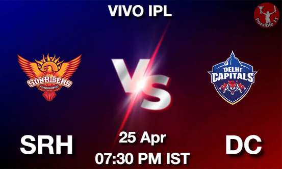 SRH vs DC Dream11 Prediction