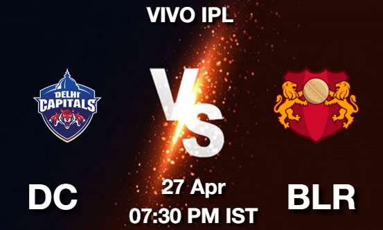 DC vs BLR Dream11 Prediction