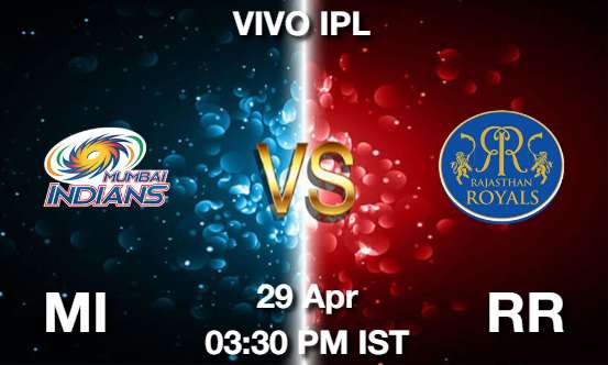 MI vs RR Dream11 Prediction