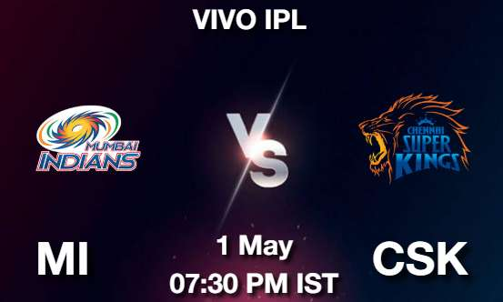 MI vs CSK Cricket Match Previews