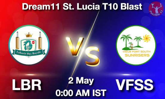 LBR vs VFSS Dream11 Prediction