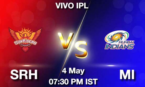 SRH vs MI Dream11 Prediction