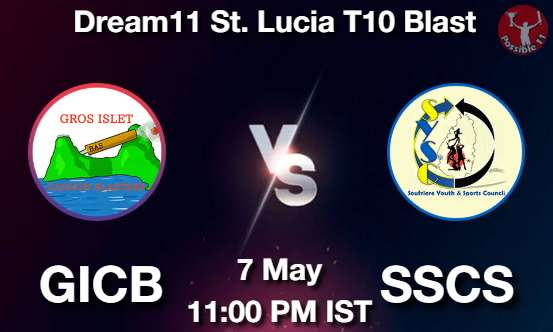GICB vs SSCS Dream11 Prediction
