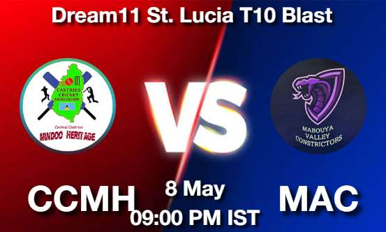 CCMH vs MAC Dream11 Prediction