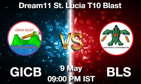 GICB vs BLS Dream11 Prediction