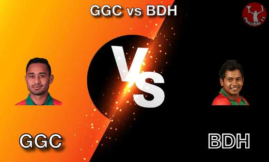 GGC vs BDH Cricket Matcch Previews