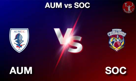 AUM vs SOC Cricket Matcch Previews