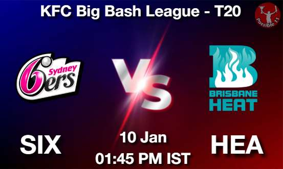 SIX vs HEA Dream11 Prediction