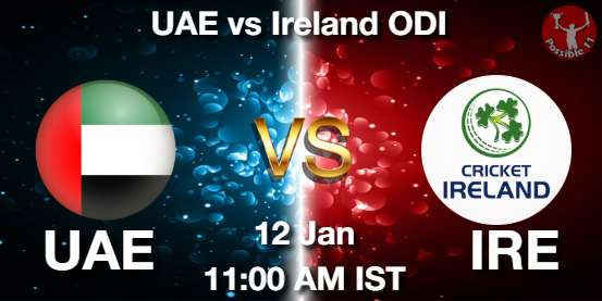 UAE vs IRE Cricket Matcch Previews