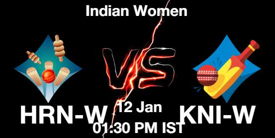 HRN-W vs KNI-W Cricket Matcch Previews