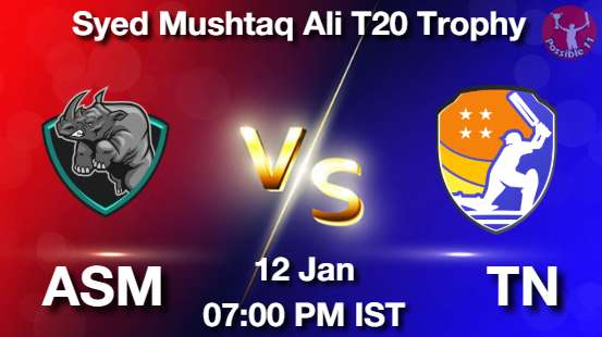ASM vs TN Cricket Matcch Previews