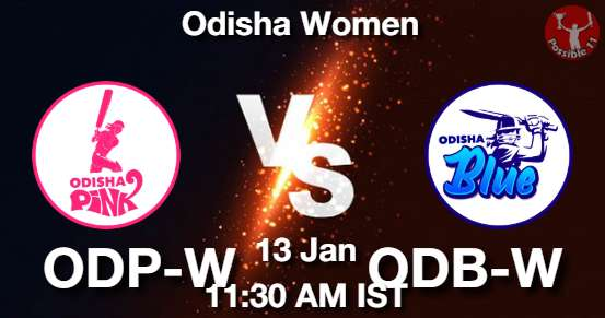 ODP-W vs ODB-W Cricket Matcch Previews