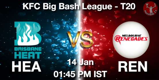 HEA vs REN Dream11 Prediction