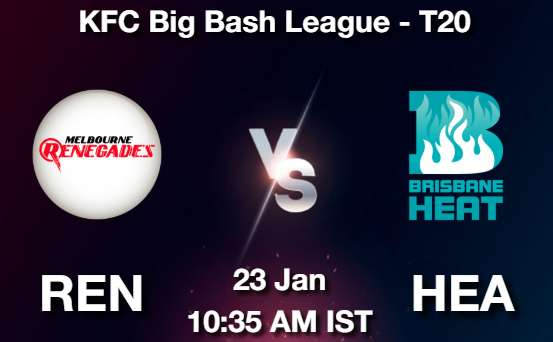 REN vs HEA Dream11 Prediction