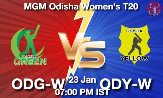 ODG-W vs ODY-W Cricket Matcch Previews