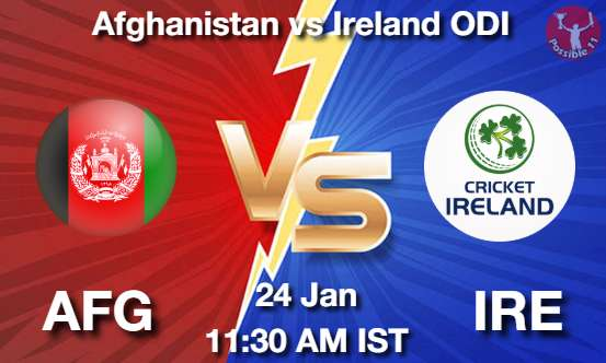 AFG vs IRE Cricket Matcch Previews