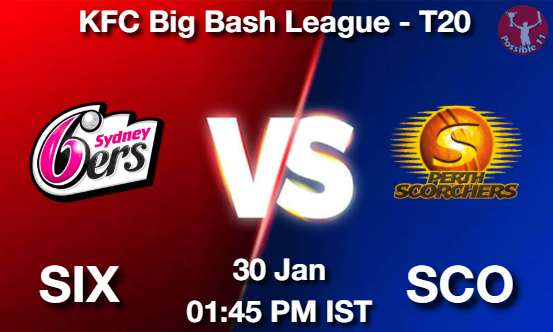 SIX vs SCO Dream11 Prediction