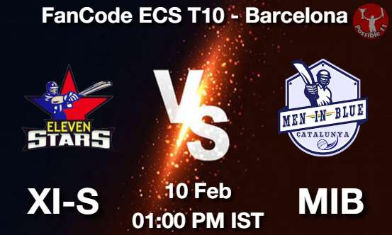 XI-S vs MIB Dream11 Prediction