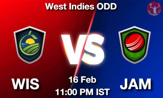 WIS vs JAM Dream11 Prediction