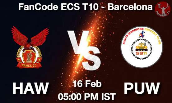HAW vs PUW Dream11 Prediction