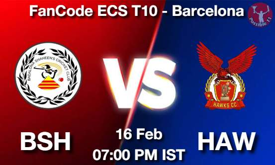 BSH vs HAW Dream11 Prediction