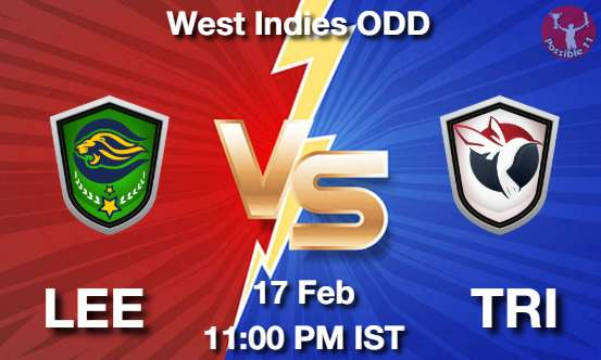 LEE vs TRI Dream11 Prediction