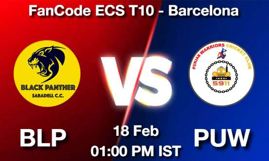 BLP vs PUW Dream11 Prediction
