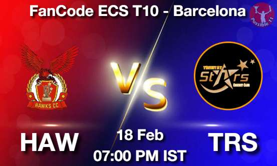 HAW vs TRS Dream11 Prediction