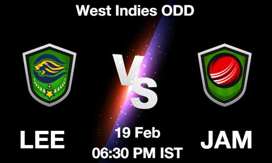 LEE vs JAM Dream11 Prediction