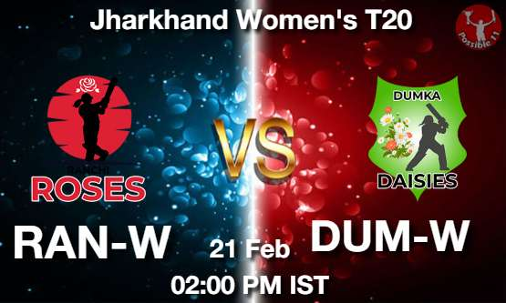 RAN-W vs DUM-W Dream11 Prediction