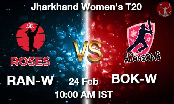 RAN-W vs BOK-W Dream11 Prediction