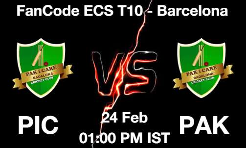 PIC vs PAK Cricket Match Previews