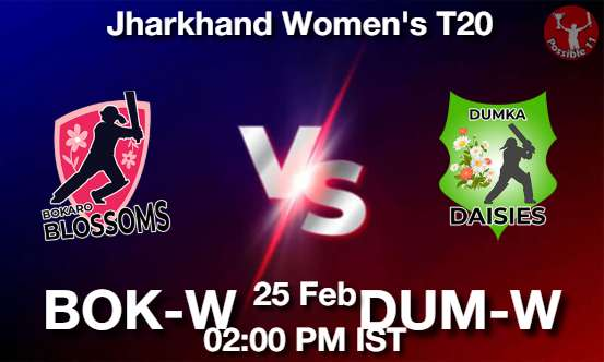BOK-W vs DUM-W Dream11 Prediction