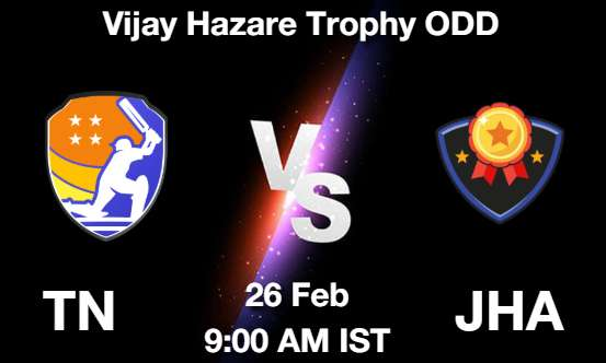 TN vs JHA Dream11 Prediction
