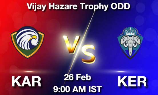 KAR vs KER Dream11 Prediction