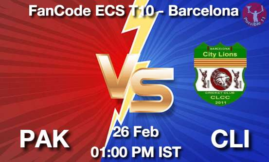 PAK vs CLI Dream11 Prediction