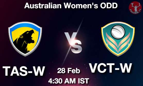 TAS-W vs VCT-W Dream11 Prediction