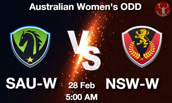 SAU-W vs NSW-W Dream11 Prediction