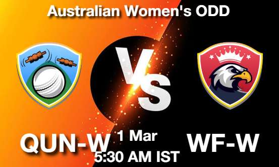 QUN-W vs WF-W Dream11 Prediction