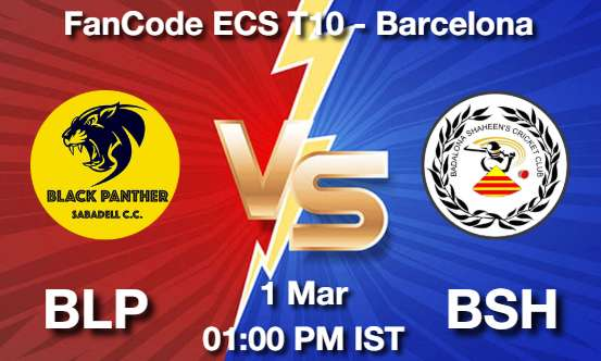 BLP vs BSH Dream11 Prediction